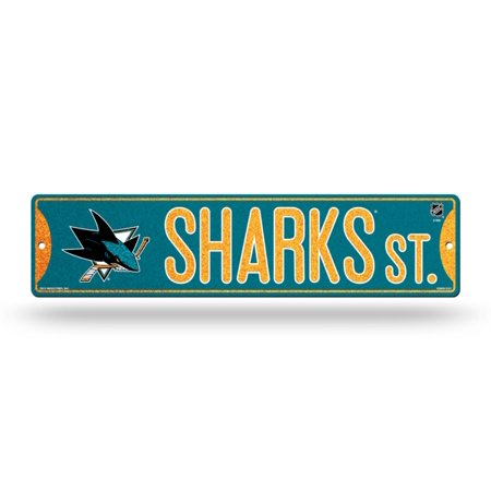 Nhl Teams   Bling Glitter 3 75   X 16   Hockey Street Sign Officially Licensed