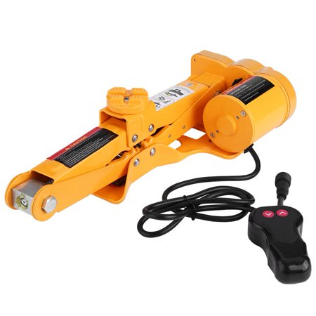 WALFRONT 2 Ton 12V DC Automotive Car Automatic Electric Lifting Jack Garage and Emergency Equipment,Electric Jack, Lifting