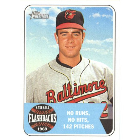 2018 Topps Heritage Baseball Flashbacks #BF-JP Jim Palmer Baltimore Orioles Baseball Card