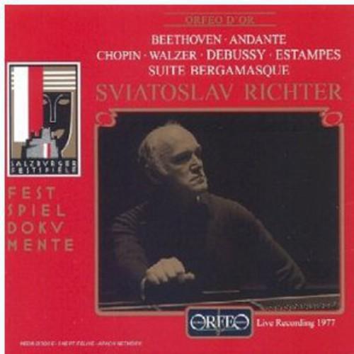 Beethoven/Chopin/Debussy - Sviatoslav Richter Conducts Chopin, Debussy, Beethoven [CD]