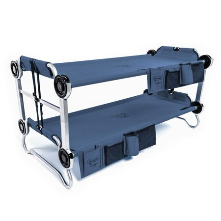Disc O Bed Youth Kid O Bunk Benchable Camping Cot With