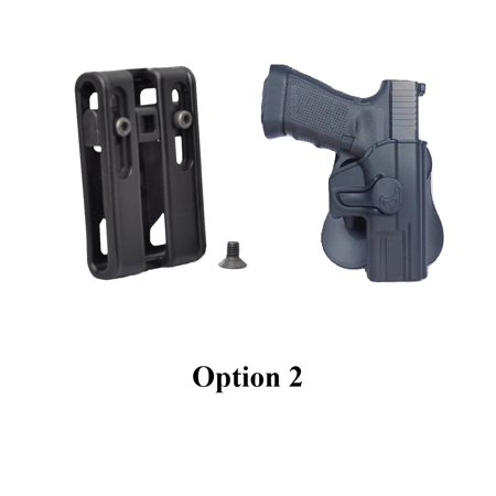 Tactical Scorpion: Fits Ruger SR9 SR9c Modular Level II Retention Paddle (Best Owb Holster For Ruger Sr9c)