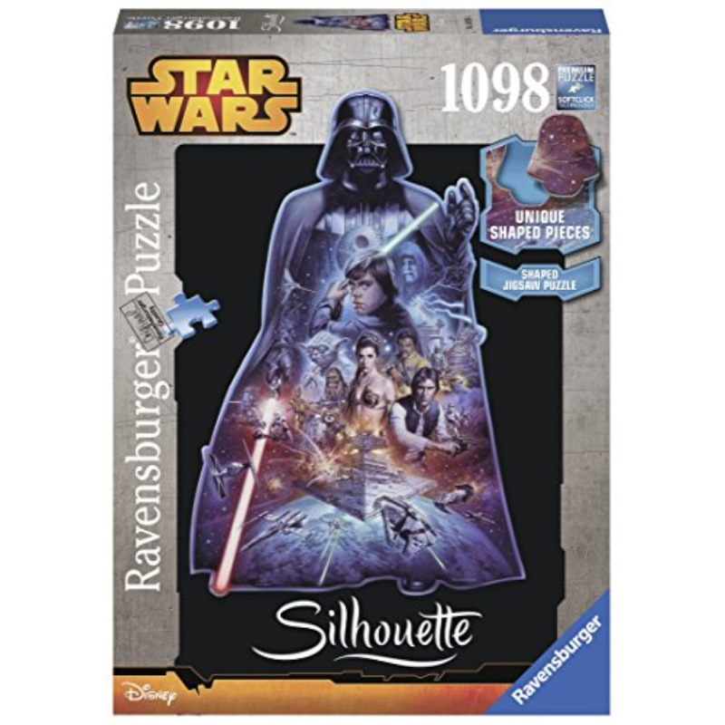 Ravensburger Star Wars, Darth Vader-Silhouette Jigsaw Puzzle (1098 Piece)