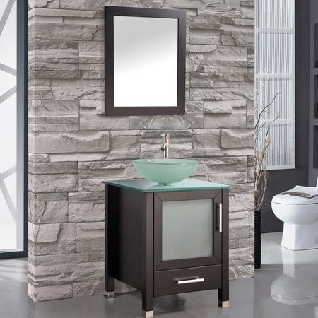 Mtd vanities cuba 24 39 39 single sink bathroom vanity set - Walmart bathroom vanities with sink ...