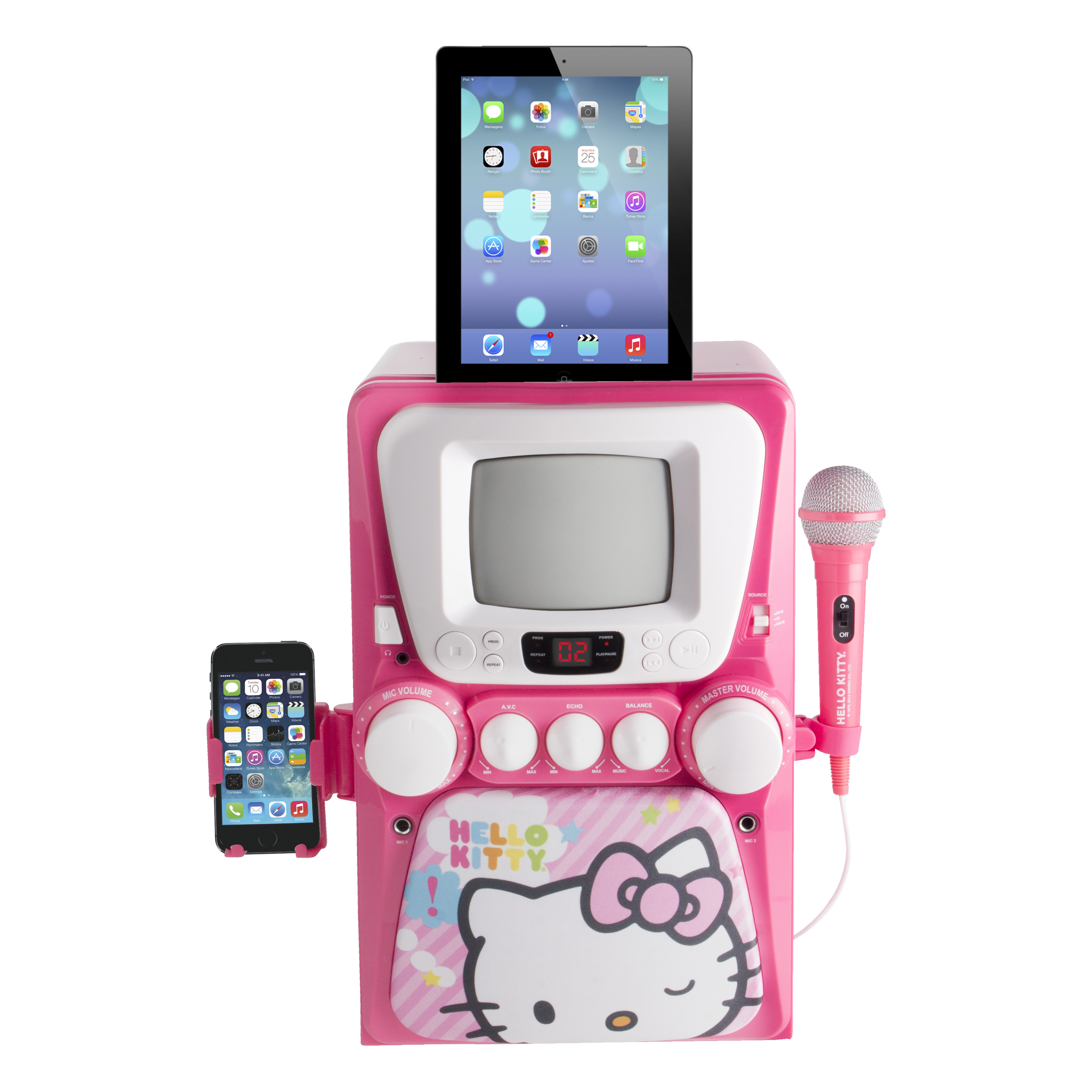 Hello Kitty Deluxe Karaoke with Screen
