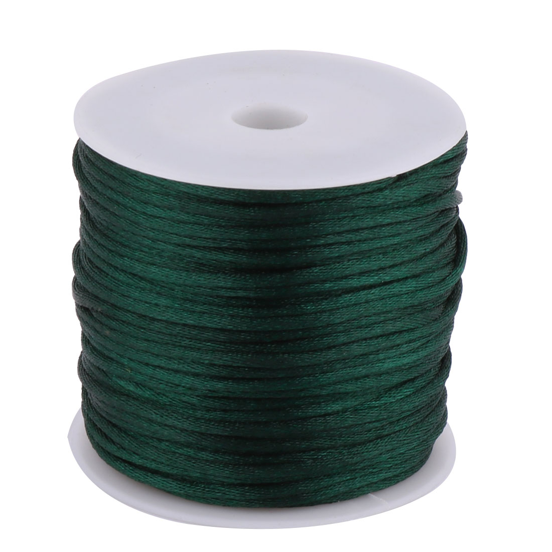 Nylon Handicraft Braided Adornment Chinese Knot String Green 2mm Dia 49 Yards