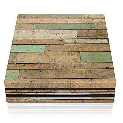 Controller Gear PS4 Pro Console Skin - Reclaimed Wood Horizontal - PlayStation