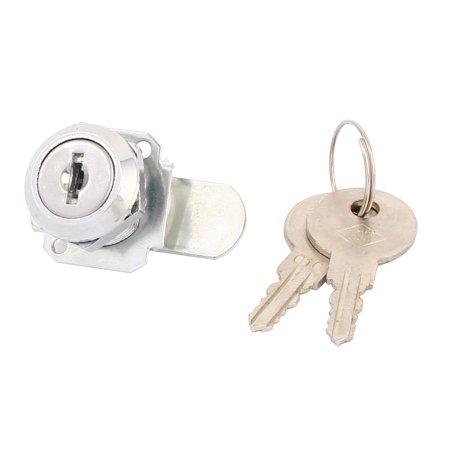 Cupboard Cabinet Mailbox Drawer Door Security Cam Chest Lock Camlock w 2 Keys - image 3 of 3