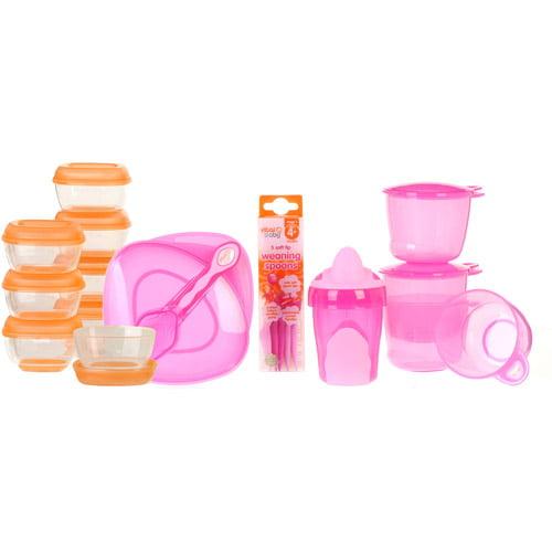 Vital Baby - Baby Girl Weaning Kit, BPA-Free
