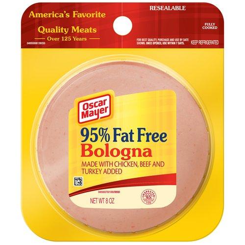 Oscar Mayer 98% Fat Free Bologna, 8 oz