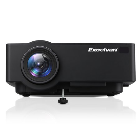 E09 Android 6.0.1 Multimedia Home Theater Projector 1200 Lumens Support Full HD 1080P 4K Video With Bluetooth - Video Projector Lift