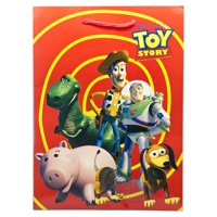Disney Pixar's Toy Story Red/Yellow Spiral Medium Size Gift Bag