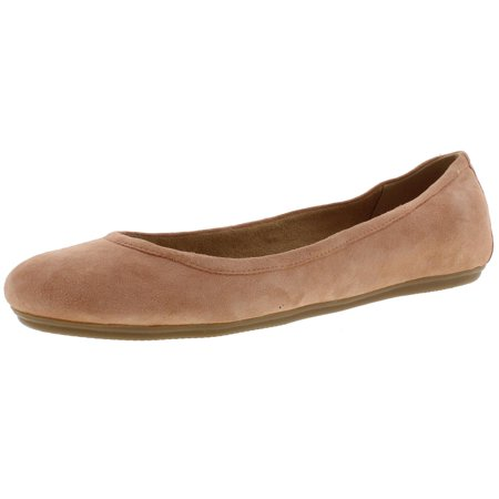 Naturalizer Womens Brittany Leather Slide On Ballet Flats