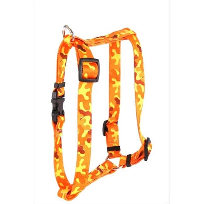Yellow Dog Design Camo Roman Harness