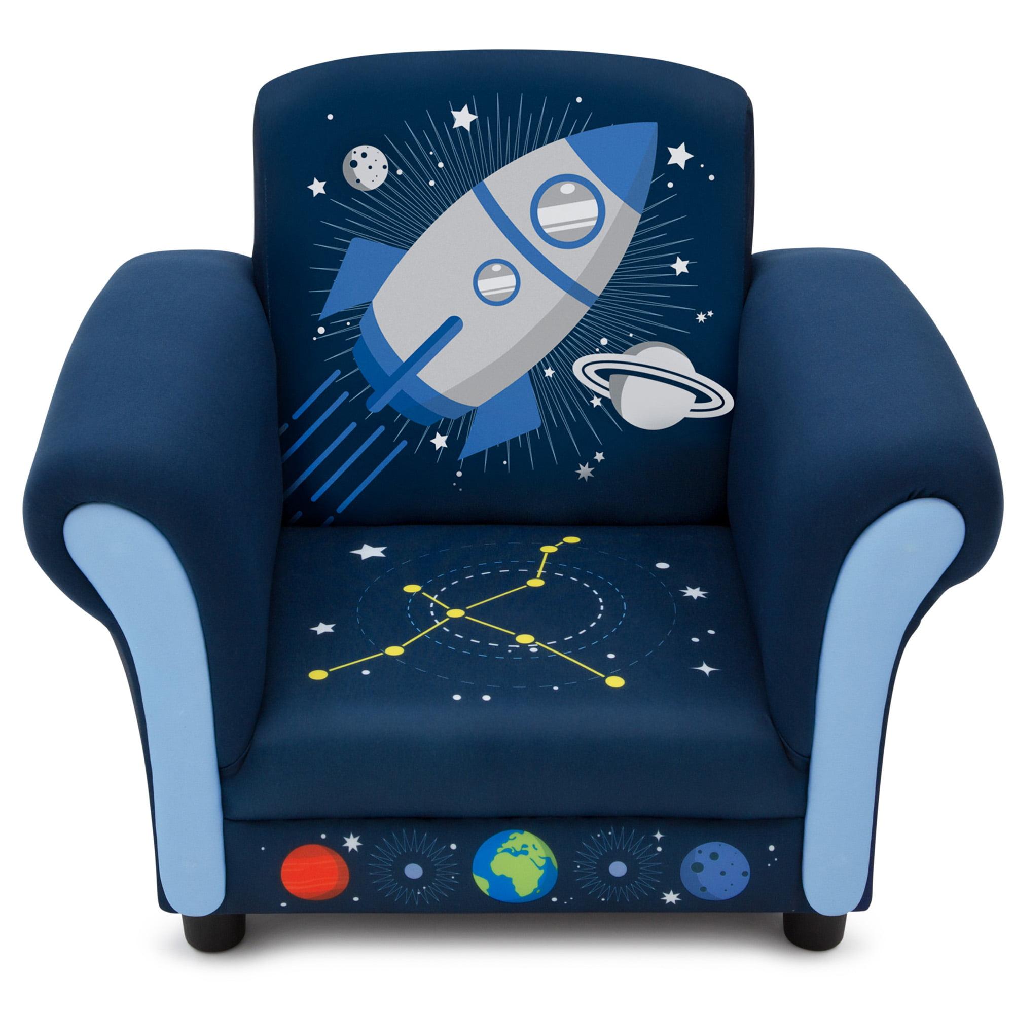 Delta Children Space Adventures Kids Upholstered Chair - Walmart