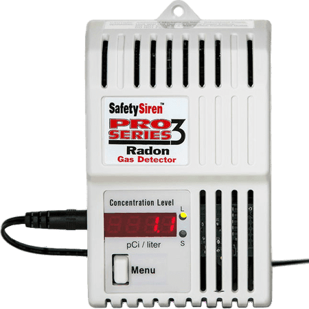 Family Safety Products  Safety Siren Pro Series 3 Radon Gas (Safety Siren Pro Series3 Radon Gas Detector)