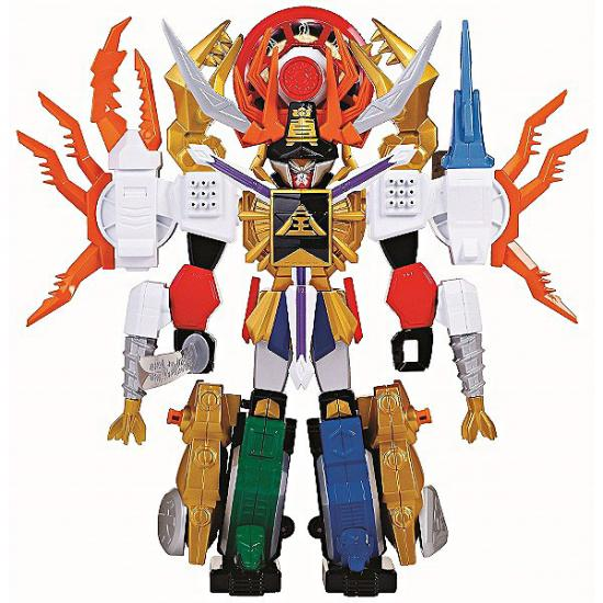 Power Rangers Samurai Deluxe DX Gigazord Action Figure