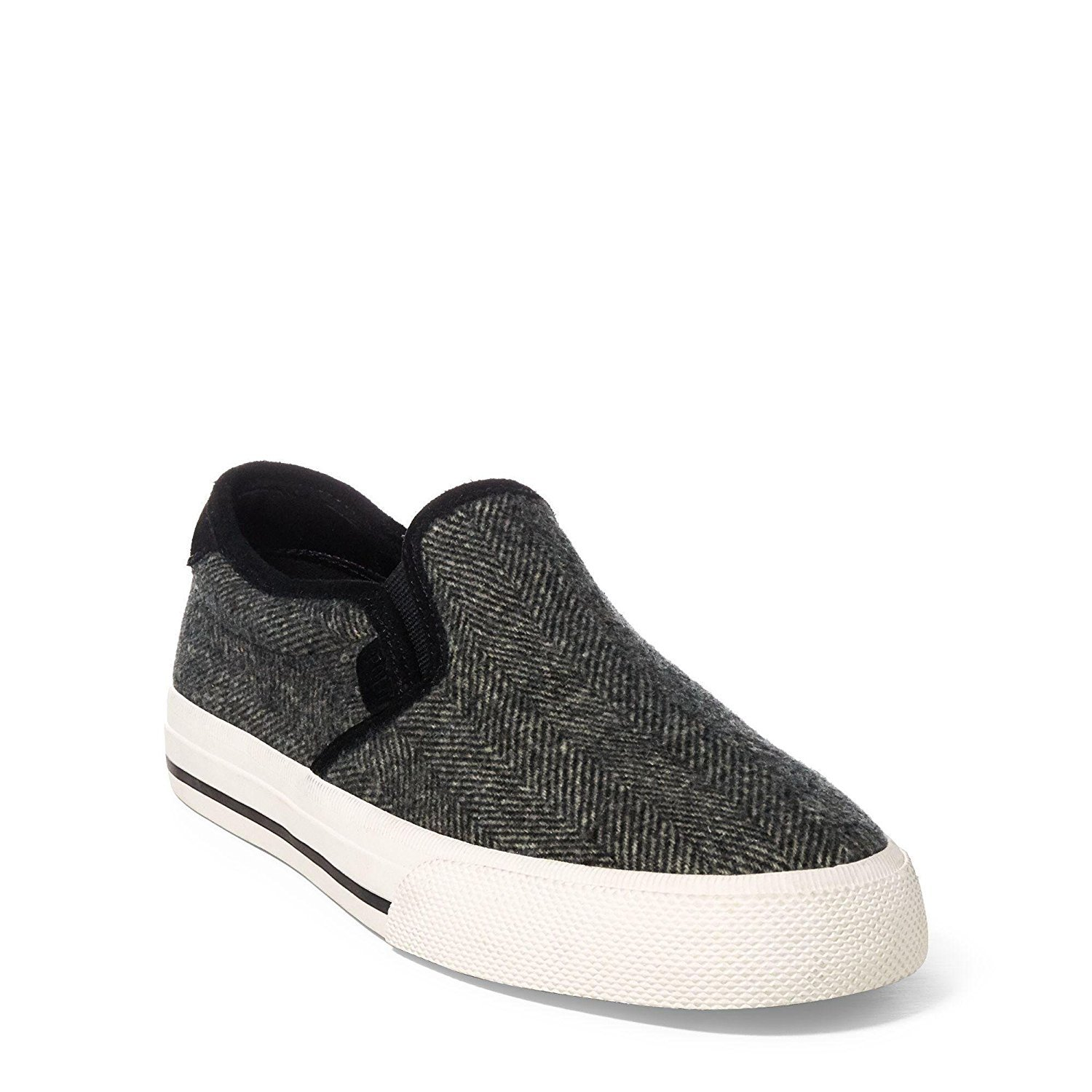 Polo Ralph Lauren Men's Vaughn Slip On II Sneaker - Herringbone, Size 9.5