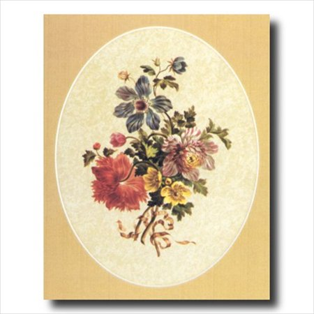Victorian Flowers Floral Wall Picture Art Print - Meyda Victorian Floral Art