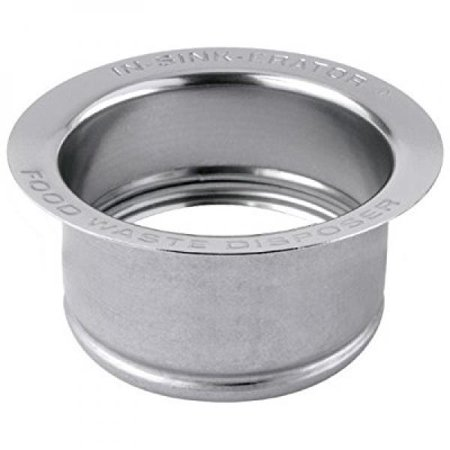 InSinkErator FLG-SSLG Deep Stainless Steel Sink Flange, Polished Stainless Steel