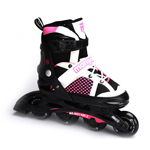 Mongoose Girls' In-Line Skates, Small
