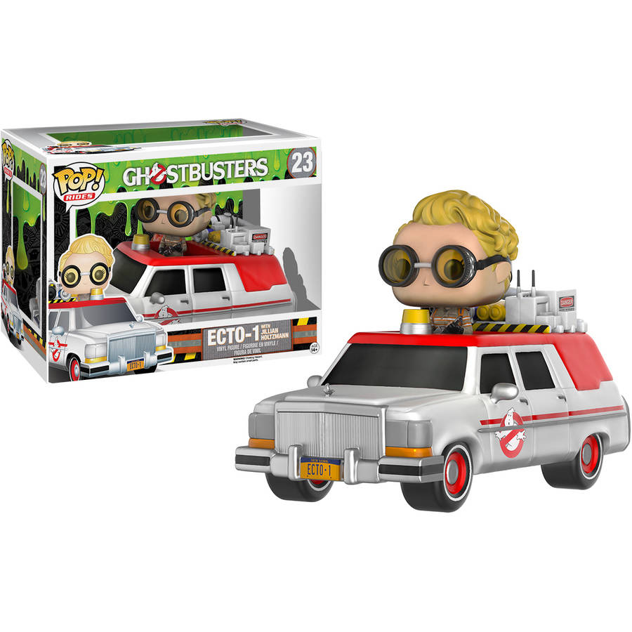 Funko Pop! Rides Ghostbusters 2016 ECTO-1 with Jillian Holtzmann