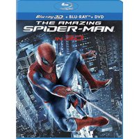 The Amazing Spider-Man Blu-ray + Blu-ray + DVD Deals