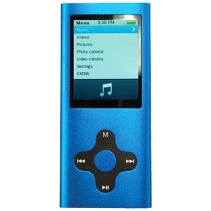 "ECLIPSE ECLIPSE-180 G2 BL 4GB 1.8"" 180G2 MP4 Player (Blue)"