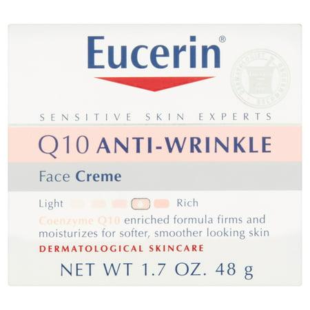 Eucerin Experts sensibles de la peau Q10 Anti-rides du visage Crème 1,7 oz