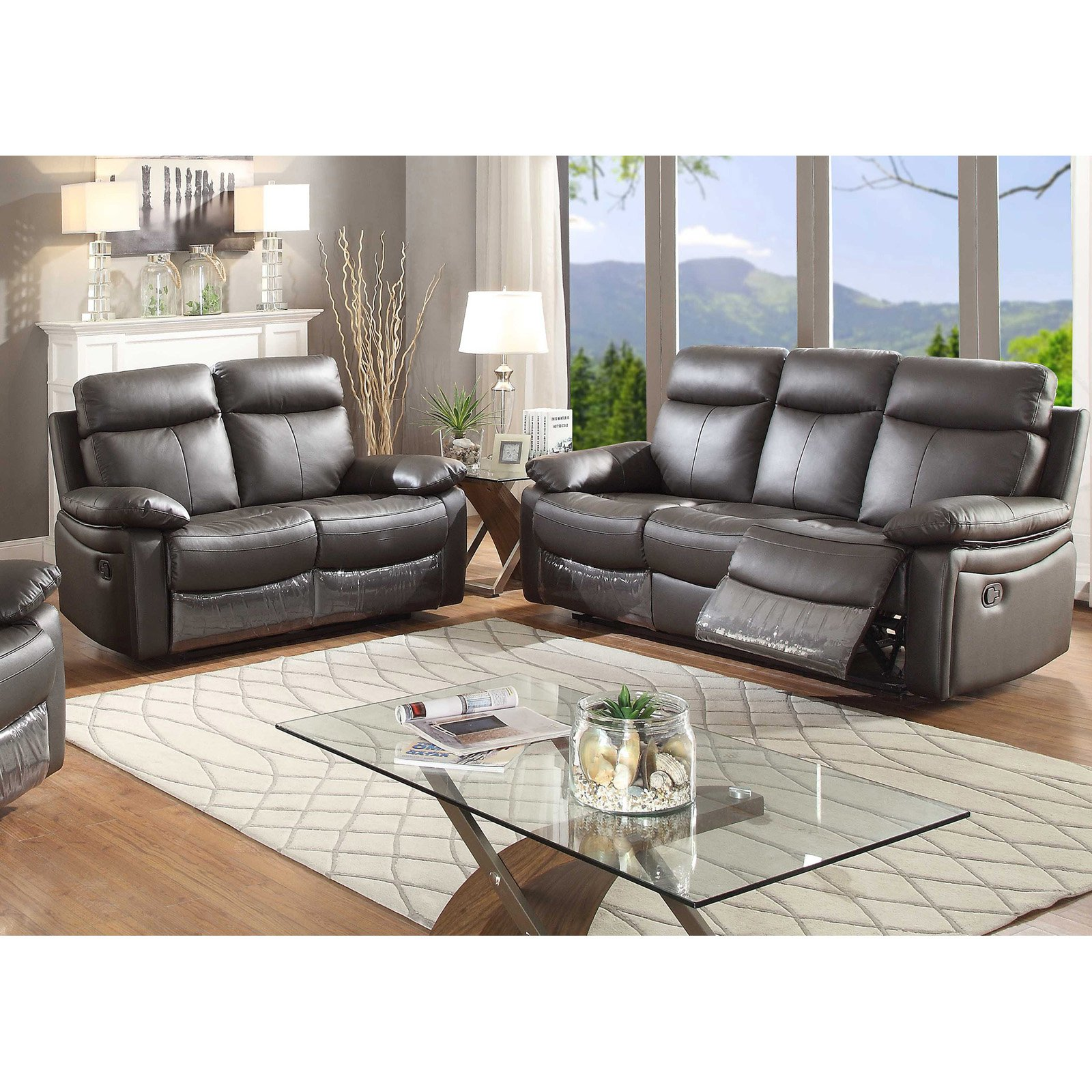 AC Pacific Ryker Sofa Set