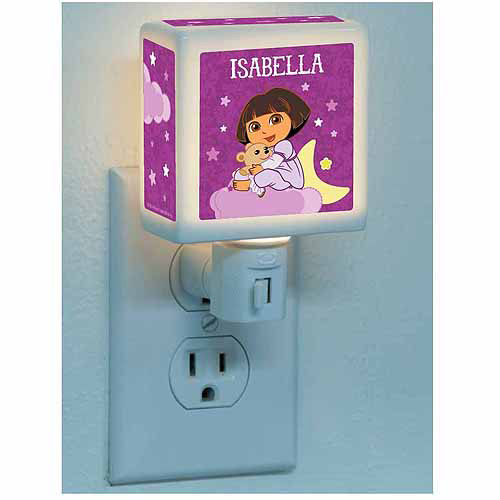Personalized Dora the Explorer Dream Explorer Nightlight
