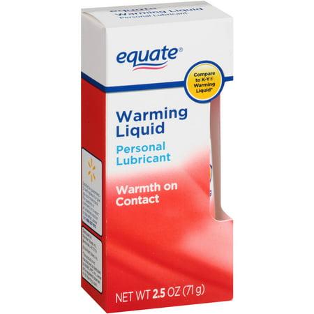 Equate Warming Liquid Personal Lubricant, 2.5 oz - Walmart.com