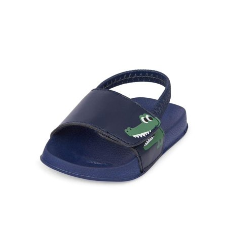The Children's Place Kids' Nbb Dino Slide Sandal (Dinosaur Place Coupons)