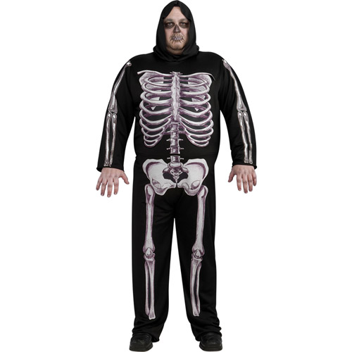 Skeleton Adult Halloween Costume - One Size