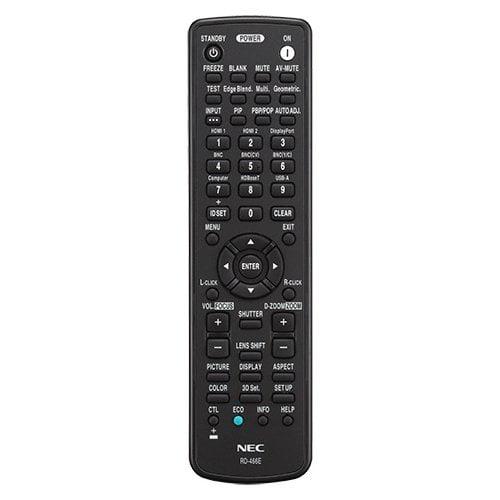 NEC RMT-PJ37 Replacement Remote Accs For Np/pa Projectors
