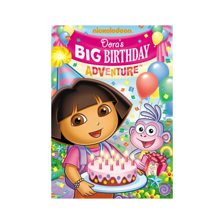 Dora The Explorer: Dora's Big Birthday Adventure (DVD)