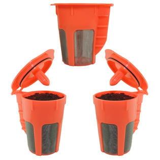 3-Pack Keurig 2.0 K-Carafe Reusable K-Cup Coffee Filter Keurig K-Cups by Looking 4 The Deals LLC