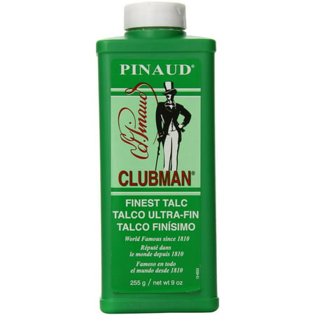 Pinaud Clubman Talc 9 oz (Pack of 3) (Newport Talc)