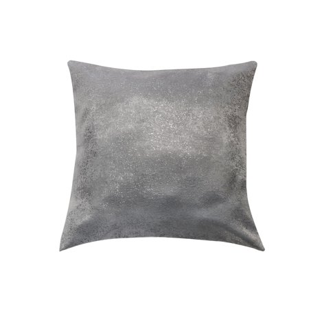 Maddie Decorative Pillow 20 in. W x 20 in. L in - Silver Pillow
