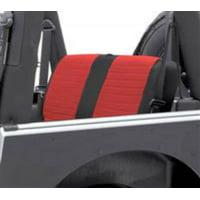 Smittybilt 2008-2012 Jeep  Wrangler JK 4 Door XRC Seat Cover Rear Black Sides  Red Center 758230