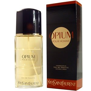 Opium Pour Homme 3.3 oz edt Men's Cologne Yves Saint Laurent New NIB YSL 3.4 (Ysl Concentrate)