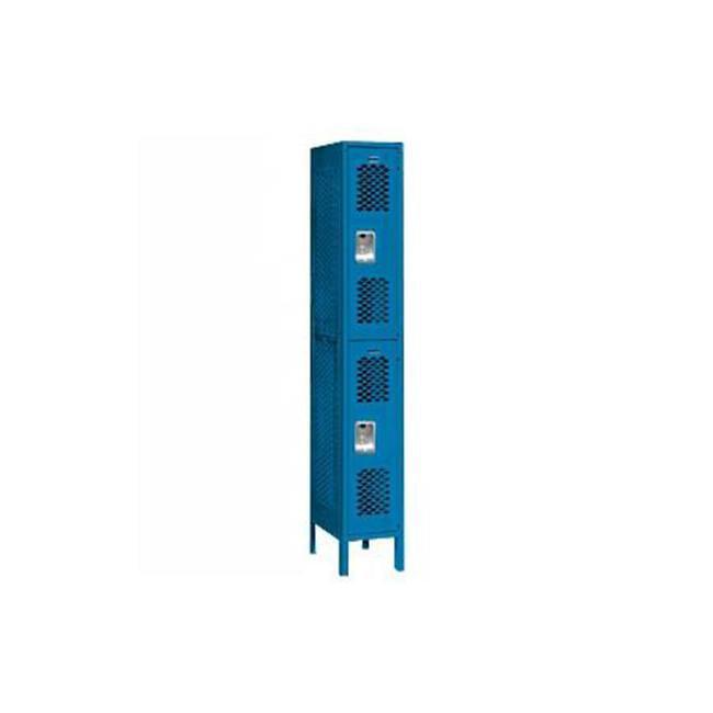 Salsbury Industries Vented Metal Locker-Double Tier-1 Wide--Unassembled
