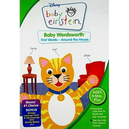 Baby Einstein - Baby Wordsworth - First Words - Around the House](Toddler Movies)