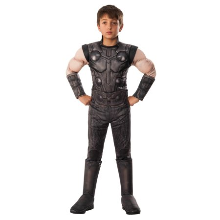 Marvel Avengers Infinity War Thor Deluxe Boys Halloween Costume - Beach Boys Halloween Costume