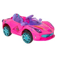 Dynacraft Trolls 6V Super Coupe Ride-On for Kids by Dynacraft