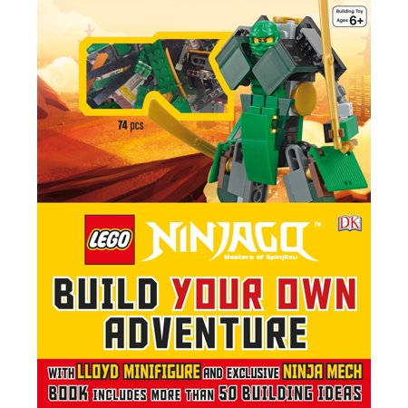 LEGO® NINJAGO: Build Your Own Adventure : With Lloyd Minifigure and Exclusive Ninja Merch, Book Includes More Than 50 - Ninja Lloyd