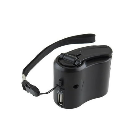 USB Hand Crank Charger Generator Manual Dynamo Mobile Emergency Phone