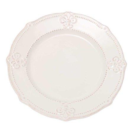 Oswaldo 10 Fleur De Lis Dinner Plate