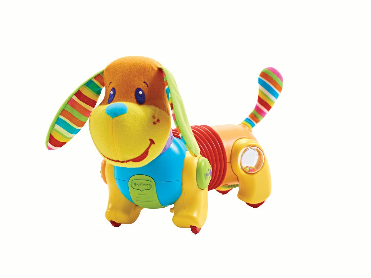 Tiny Love Follow-Me Fred Baby Developmental Toy, Dog, Fred by Tiny Love