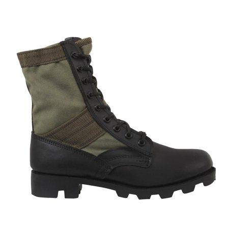 Rothco 5080 Olive Drab G.I. Style Discount Jungle, Combat Boot, New Gi Style Jungle Boots
